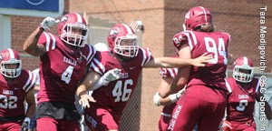 Eagle football tops Fort Lewis in opener