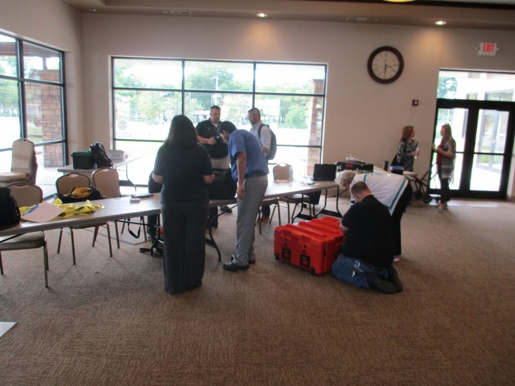 Emergency Drill Goes Smoothly At Nielsen Community Center