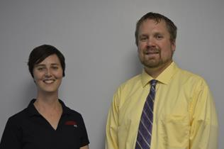 Tee Bush and Jeremy Sievers have each received promotions to associate professor at the Nebraska College of Technical Agriculture. They teach horticulture and math, and agribusiness management.   The promotions were effective Aug. 15, 2016. (NCTA Photos)