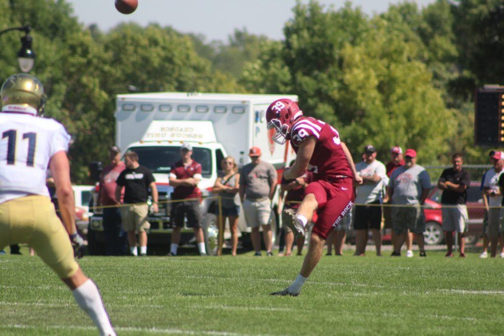 Scottsbluff native Randy Wentz gives up football at CSC