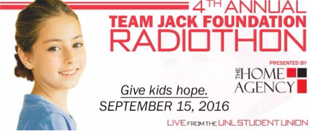 Team Jack Radioathon Taking Place Now