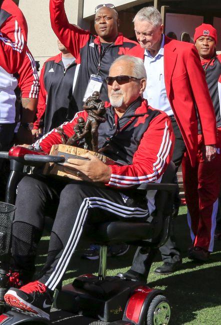 Nebraska coach Riley says Tenopir will 'forever be a Husker'