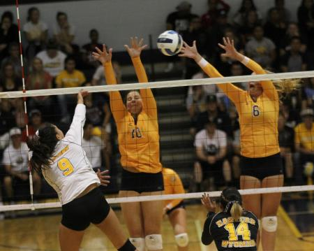 No. 1 WNCC tops EWC in four games