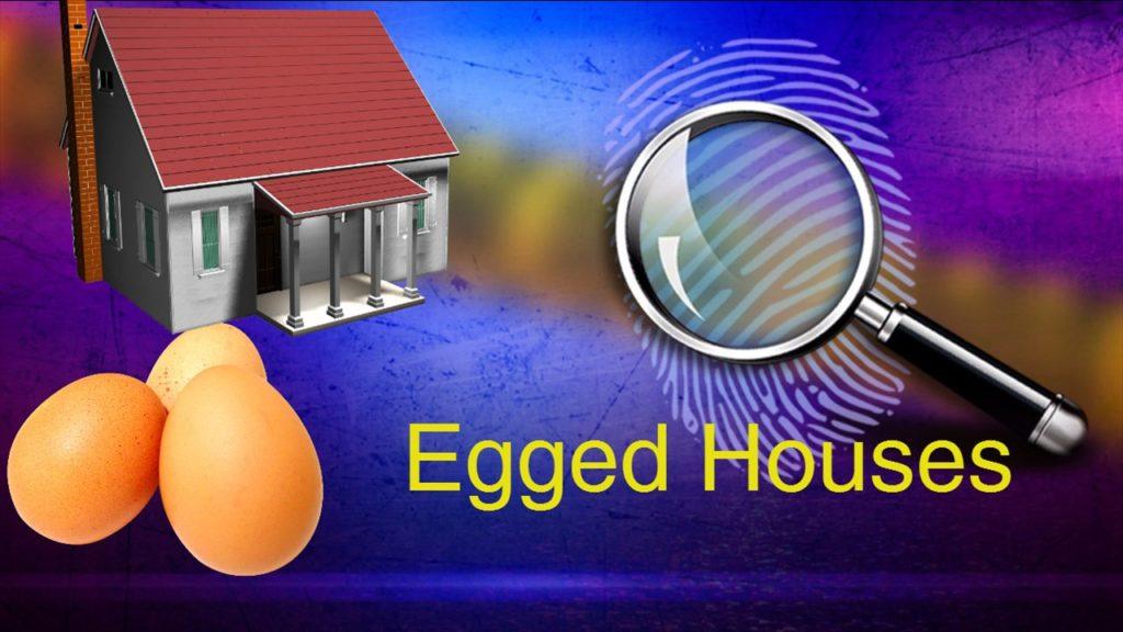 Vandals egg Scottsbluff homes and vehicles Saturday night