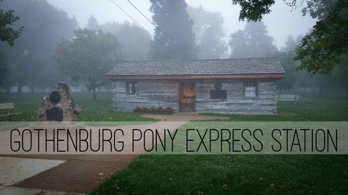 Gothenburg Pony Express Station Vandalized