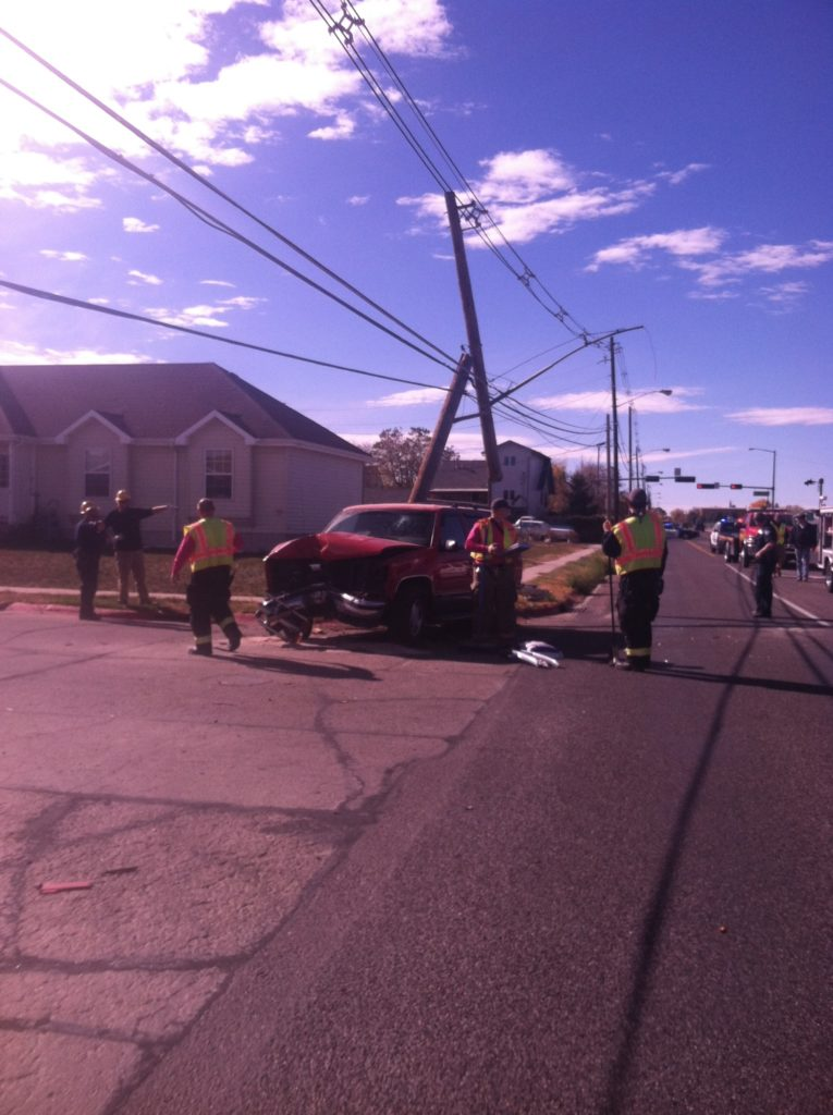 Bluffs man cited for DUI when vehicle shears off utility pole