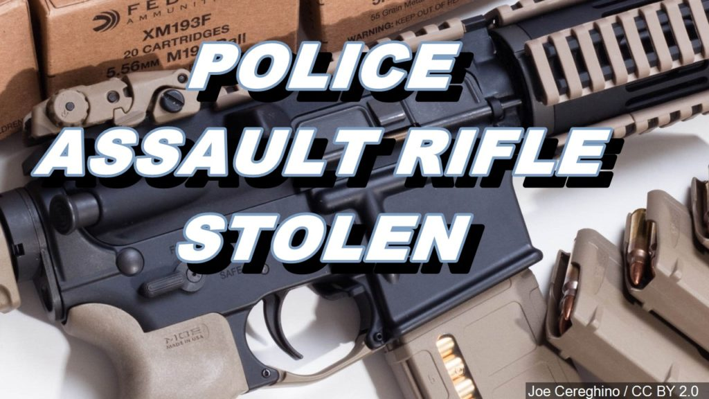 Assault rifle stolen from Gering Police vehicle