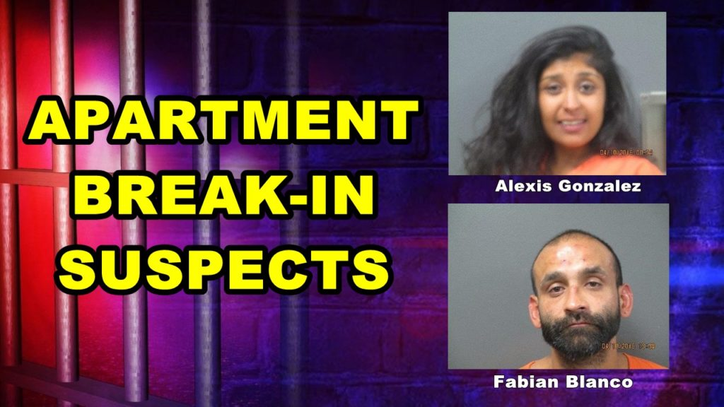 Couple charged in unusual apartment break-in