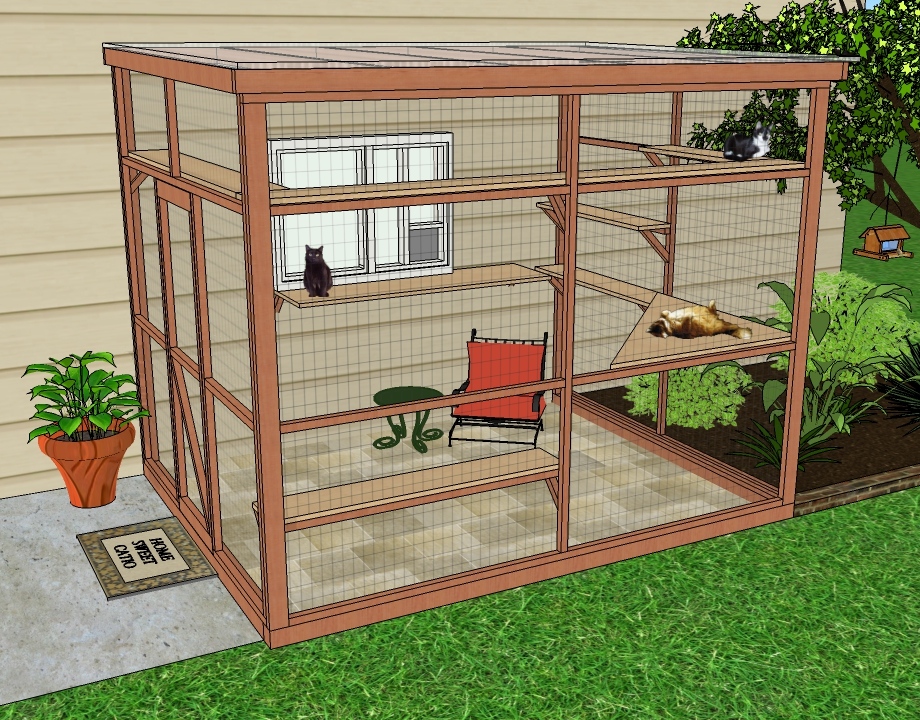 Panhandle Humane Society raising funds for outdoor cat area