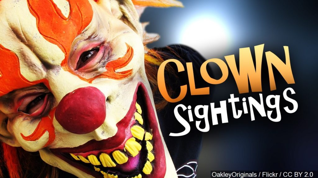 Local police warn Creepy Clowns to keep it legal