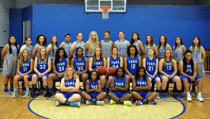 York Women's Basketball chosen to finish 10th