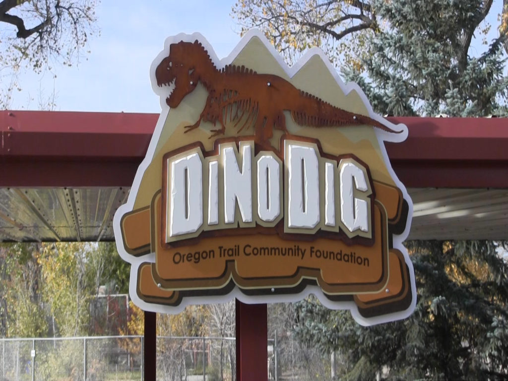Dino Dig Exhibit unveiled at Riverside Discovery Center
