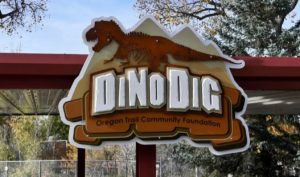 Completed Dino Dig at RDC opens with ribbon cutting/grand opening