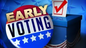 Early voting brisk in Scotts Bluff County