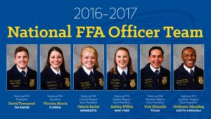 2016-17 National FFA Officer Team Elected at 89th National FFA Convention & Expo