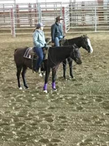 Aggie horse team hosts 25 to NCTA clinic