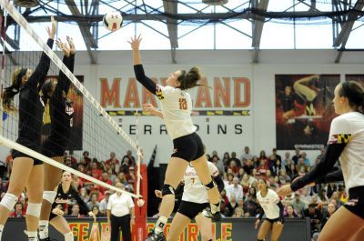 Huskers Roll Maryland On Sunday