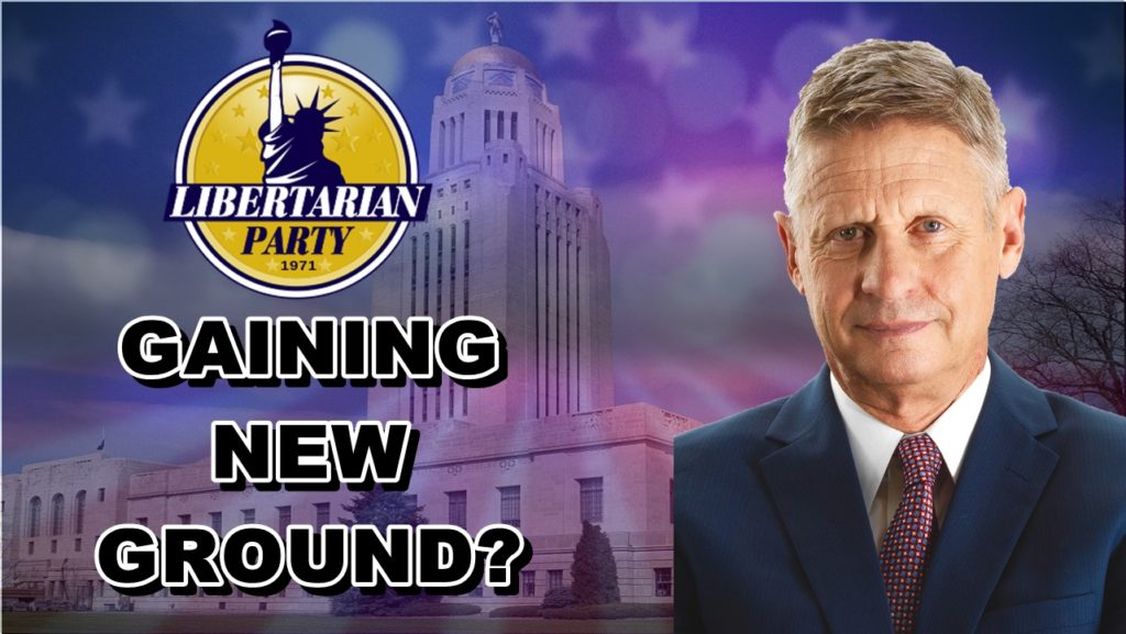 Libertarian Party sees surge of new voters in Nebraska
