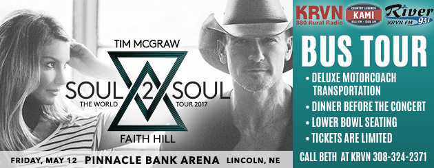 Tim & Faith Bus Tour