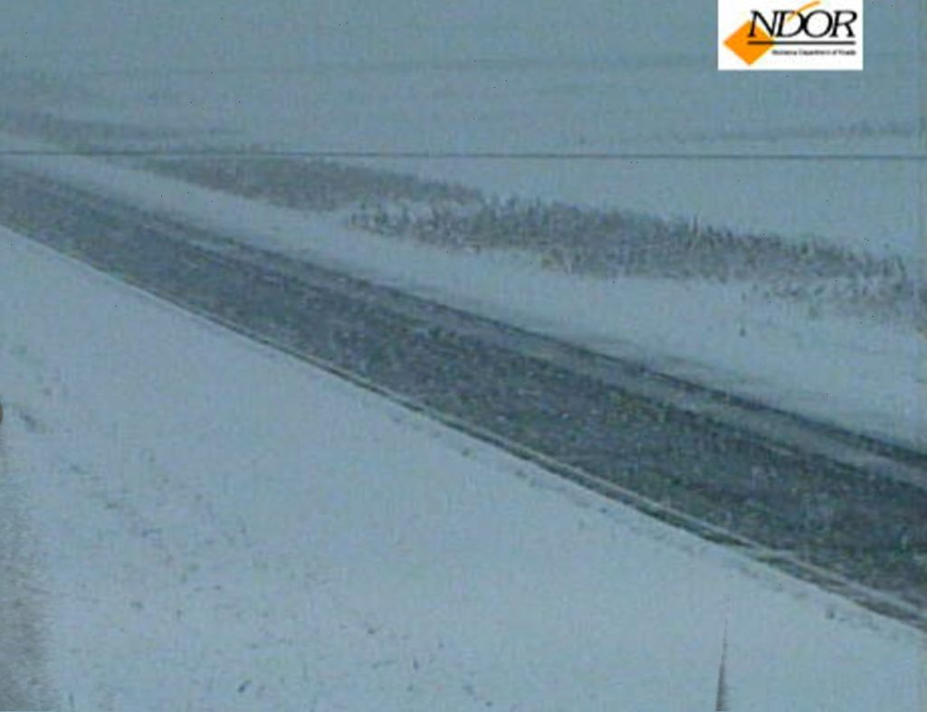 Up to 5″ of snow reported in western Nebraska