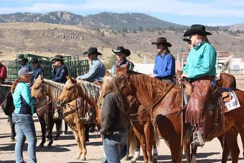 NCTA Ranch Horse Team Competes in Rockies