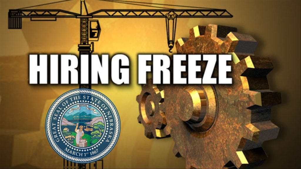 Governor freezes hiring, some travel in wake of shortfall