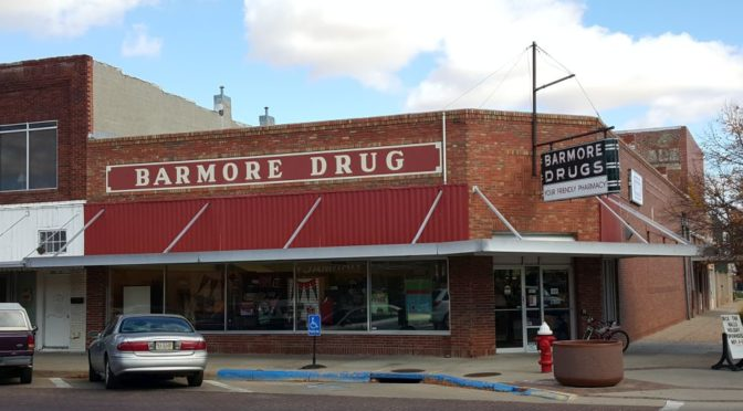 RRN/ Barmore Drug Store in downtown Lexington.