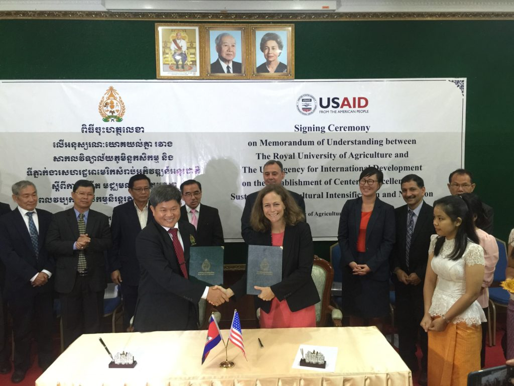 KSU Feed the Future lab helping establish agricultural research center in Cambodia