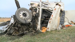 Semi Driver Life-Flighted after Rear-Ending Tractor