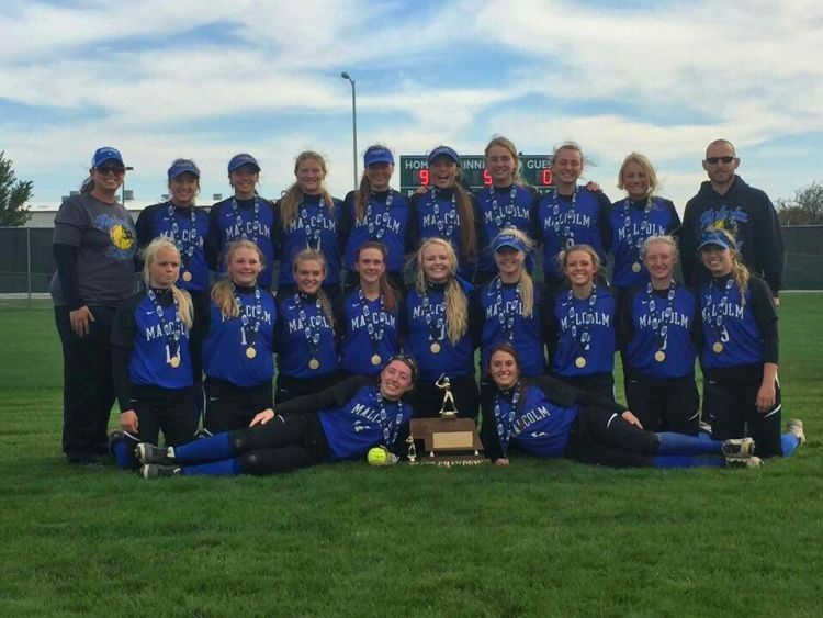 (Audio) Malcolm softball wins Class C state title