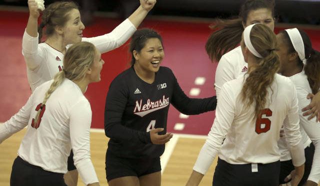 Nebraska beat Minnesota on Sunday, Photo Courtesy NU Sports Media