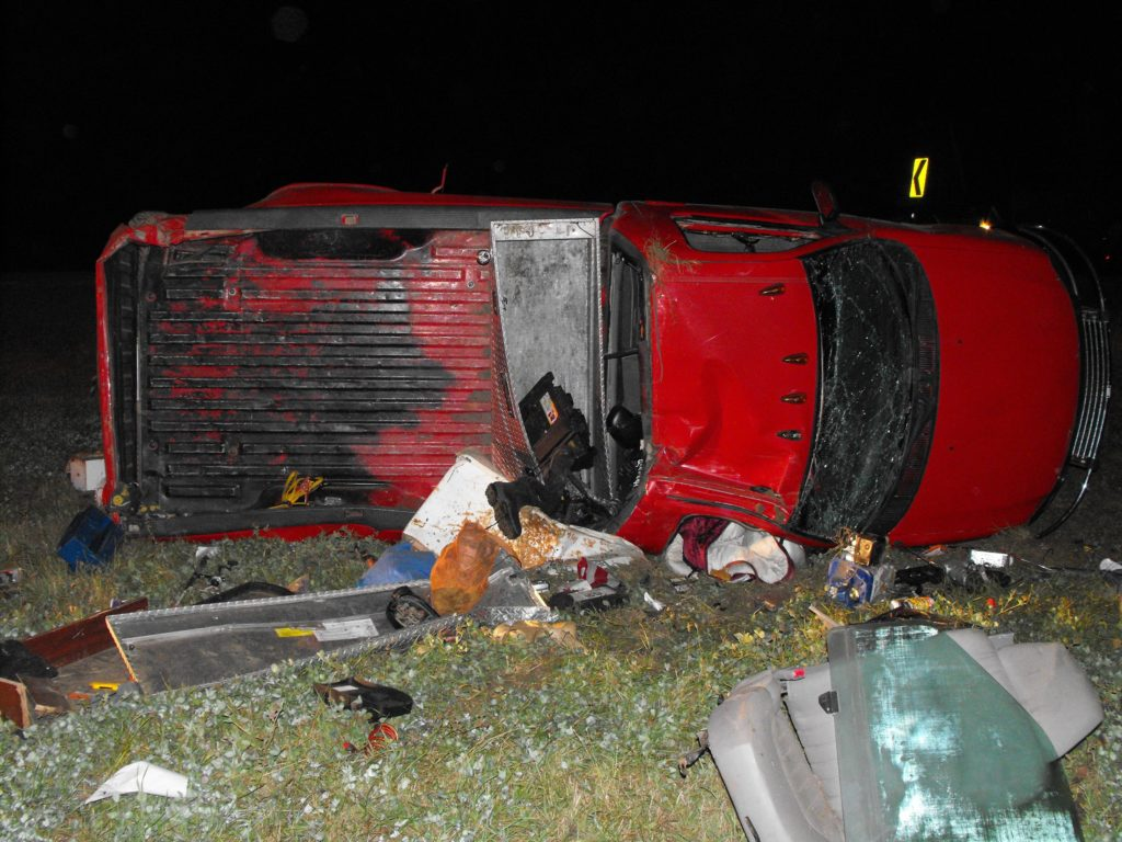 Newcastle Man Injured In Stanton County Rollover