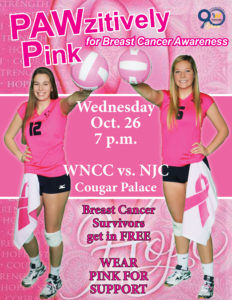 WNCC holds PAWzitively Pink night for Breast Cancer Awareness this Wednesday