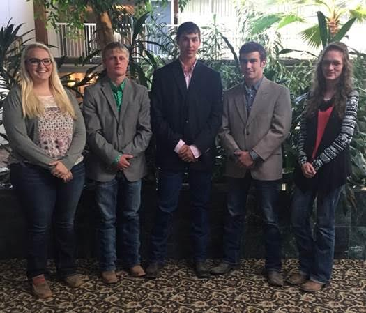 NCTA Livestock Team 3rd at Mid-America