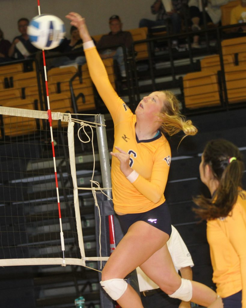 WNCC sweeps McCook for 25th win of season