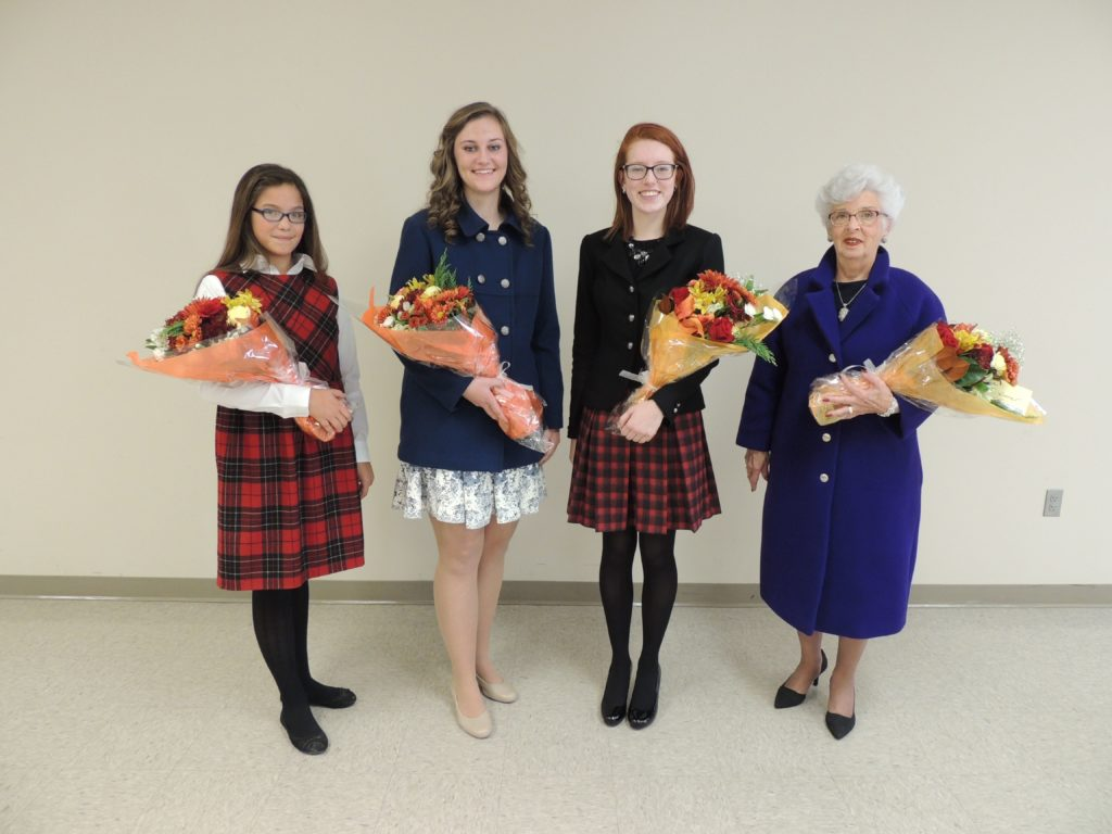 Olson, Popp, Hanson & Stewart State Wool Contest Division Winners