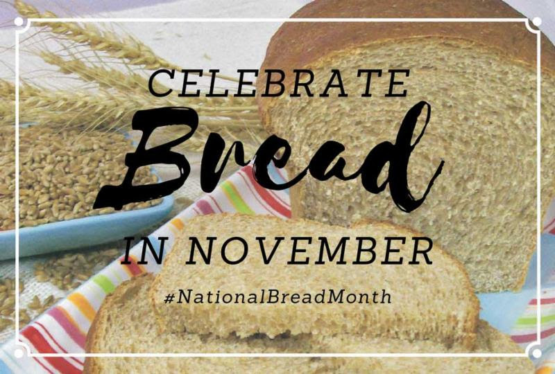 November is National Bread Month