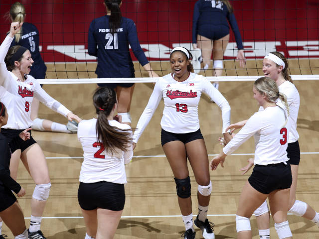Huskers Roll At Home Over Penn State