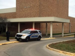 (AUDIO) UNK reopens buildings following Tuesday evacuation