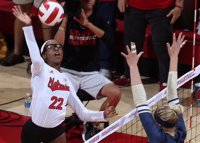(Audio) Reeves Picks Up Her First Kill As A Husker