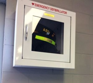 (AUDIO) York Ball Field Complex Receives 2 New AED's