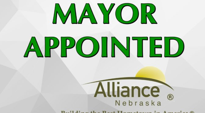 Alliance Mayor Appointed