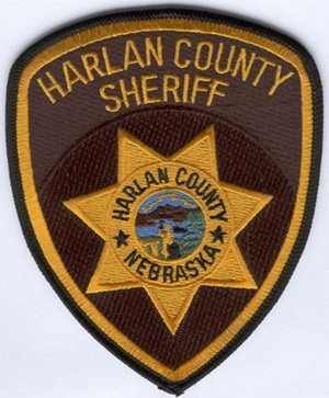 Courtesy/Harlan County Sheriff's badge