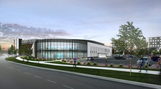 COURTESY/ Courtesy Alley Poyner Macchietto Architecture.   Construction will begin  soon on the University of Nebraska-Lincoln Health Center and University of Nebraska Medical Center College of Nursing Lincoln Division building.