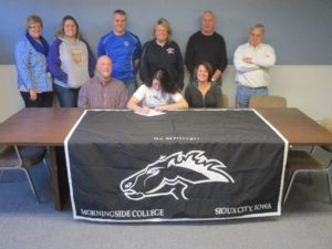 (AUDIO) Cameron signs with Morningside