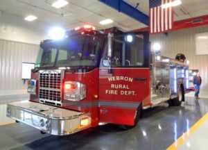 (Audio) Hebron Volunteer Fire Department Adds New Equipment to Fleet