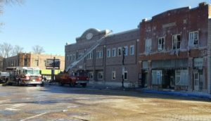(Audio) 9 Fire Departments Battle Early Morning Blaze in Downtown Seward