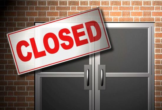 Courtesy/MGN. Closed sign.