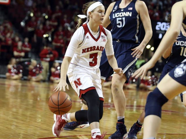 Huskers Fall To No 1 Uconn
