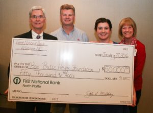 Box Butte Health Foundation  making progress toward $1.4 million goal
